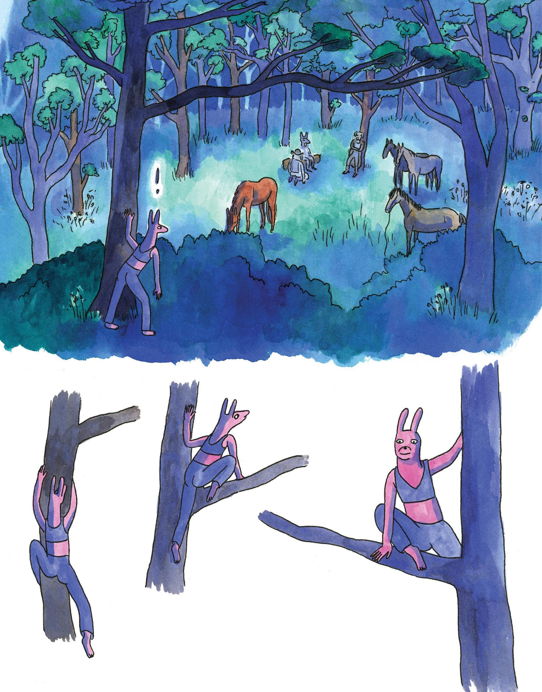 Professional Horse Artist Lisa Hanawalt Is Living Her Girlhood