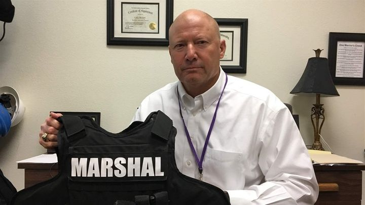 In Texas, Armed 'Marshals' And 'Guardians' Stand Ready To Protect Students