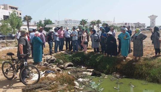 Des associations portent plainte contre la pollution de l'Oued