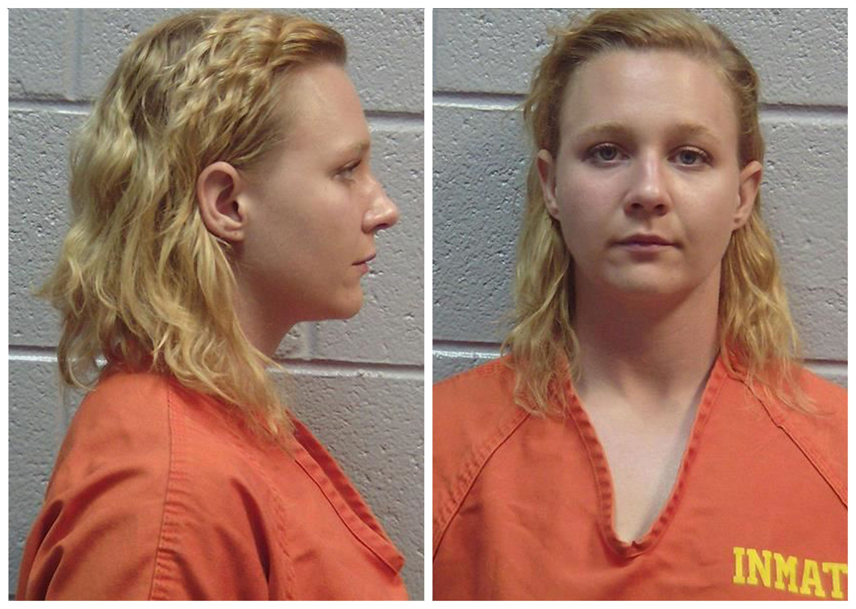 Combination photo showing Reality Winner, the U.S. intelligence contractor charged with leaking classified National Security Agency material is seen in these undated booking photos in Lincolnton, Georgia, U.S., received June 8, 2017.  Lincoln County, Georgia, Sheriff's Office/Handout via REUTERS   ATTENTION EDITORS - THIS IMAGE WAS PROVIDED BY A THIRD PARTY. EDITORIAL USE ONLY