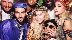 Qui étaient les invités de Madonna pour son anniversaire à