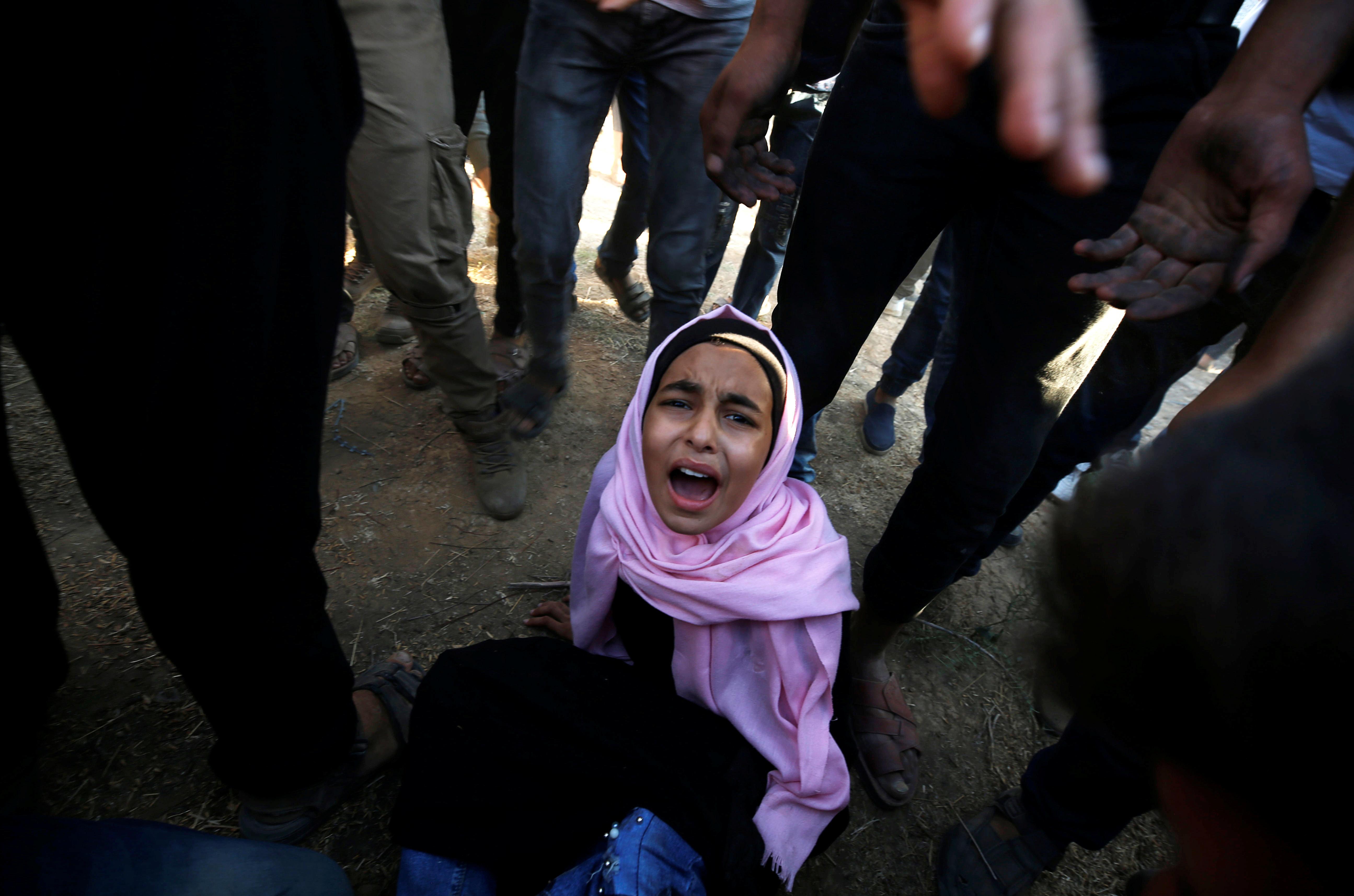 Δύο Παλαιστίνιοι σκοτώθηκαν και πάνω από 200 τραυματίστηκαν σε ταραχές στα σύνορα με τη Λωρίδα της
