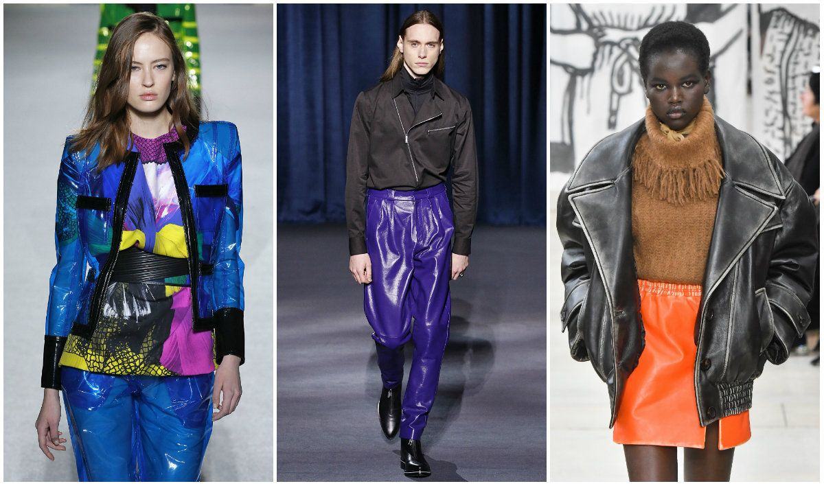 From left to right: Balmain, Givenchy, Miu
