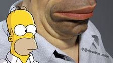Artist Creates Frightening Depiction Of How Homer Simpson Would Look In Real Life