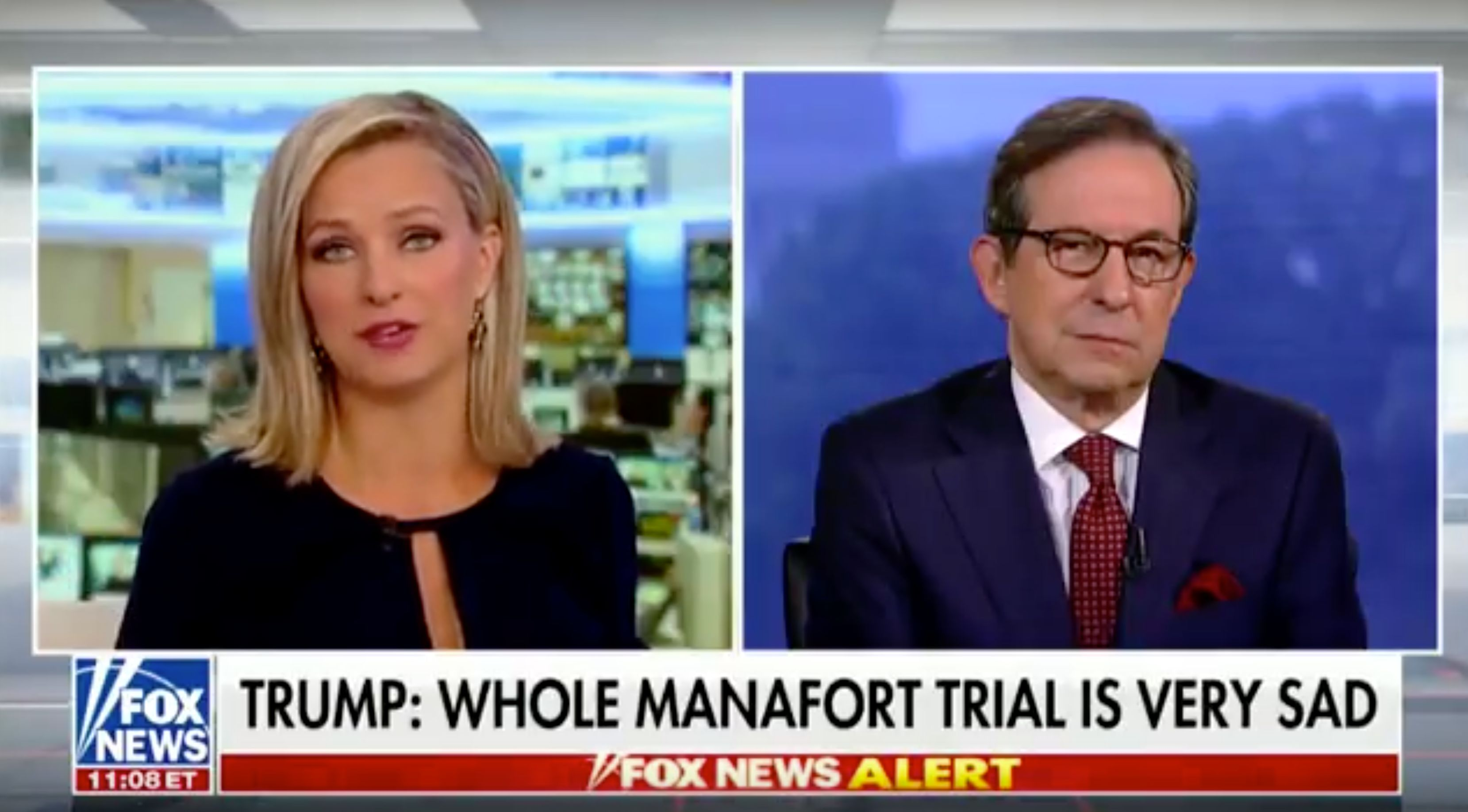 Fox News Chris Wallace Criticizes Trump For Commenting On Paul Manafort Trial