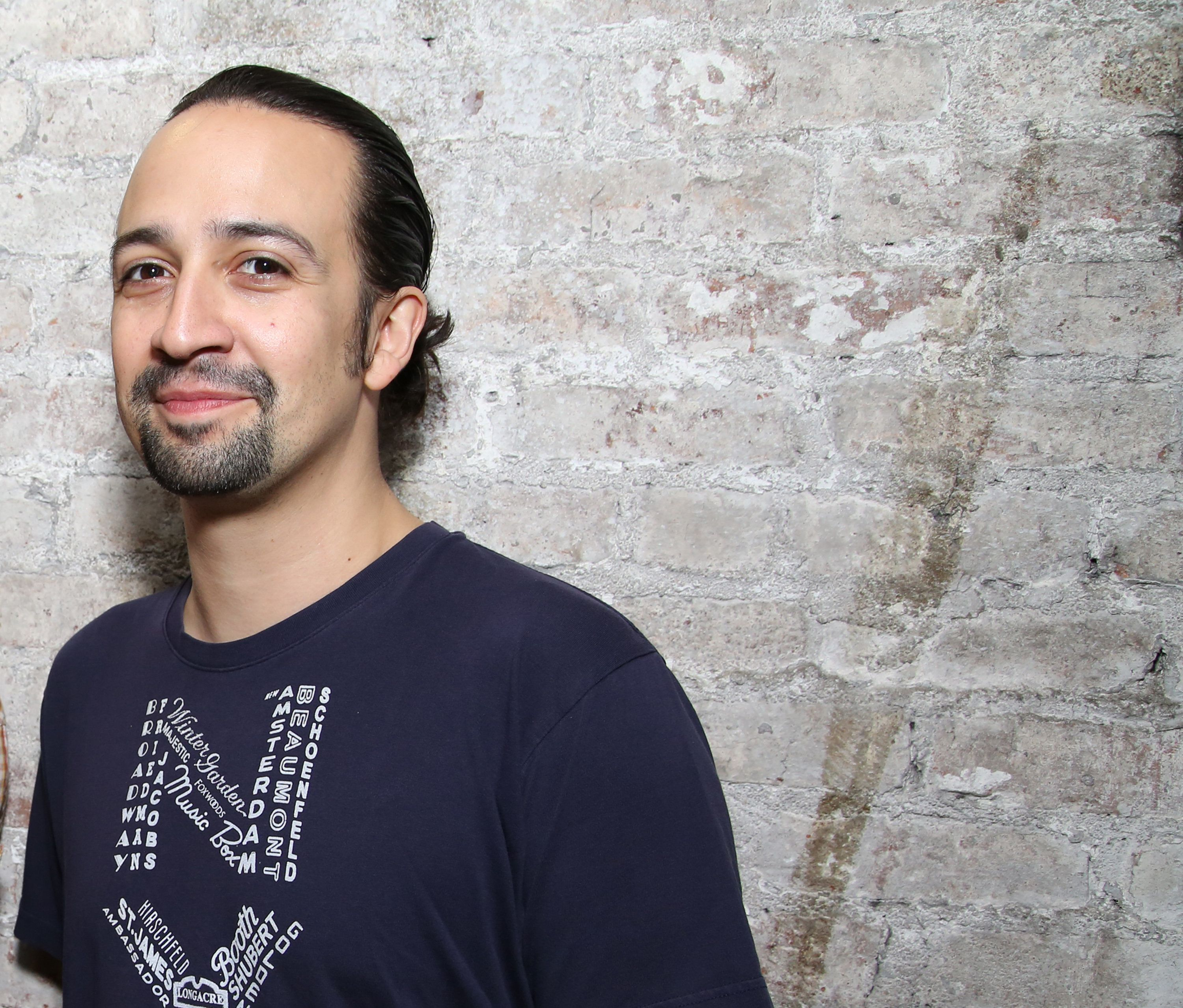 NEW YORK, NY - JUNE 16:  Lin-Manuel Miranda who plays the title character in the Tony Award winning musical 'Hamilton' at the Richard Rodgers Theater on June 16, 2016 in New York City.  (Photo by Walter McBride/Getty Images)
