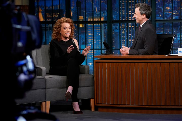 "The comedian's show was canceled as Netflix added several more talk shows to its lineup. She appears here on ""Late Night With"