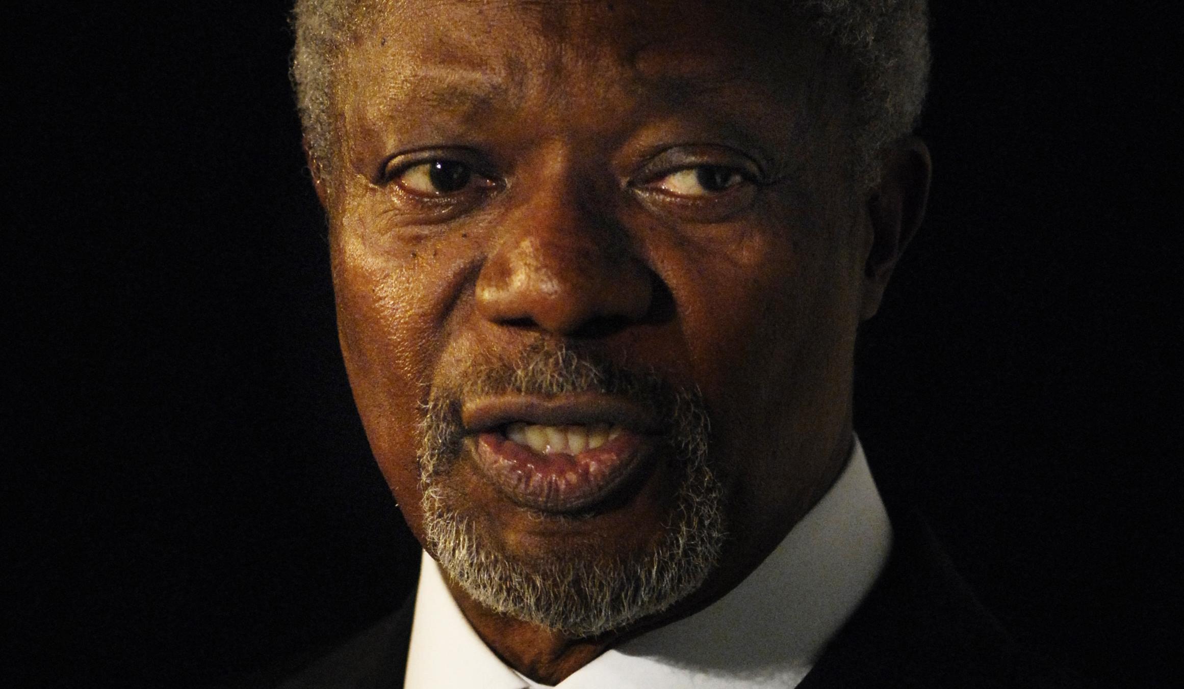 Kofi Annan, former UN Sec Gen, is dead : SDV