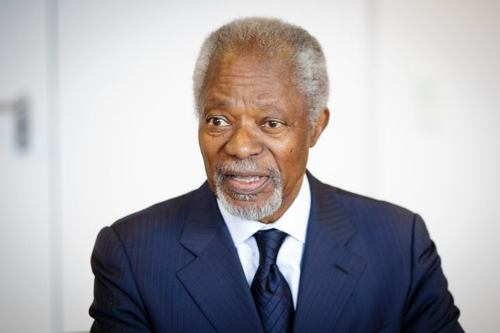 Kofi Annan, the former Secretary-General for the United Nations, has died.