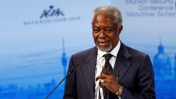 L'ancien secrétaire général des Nations-Unies Kofi Annan est