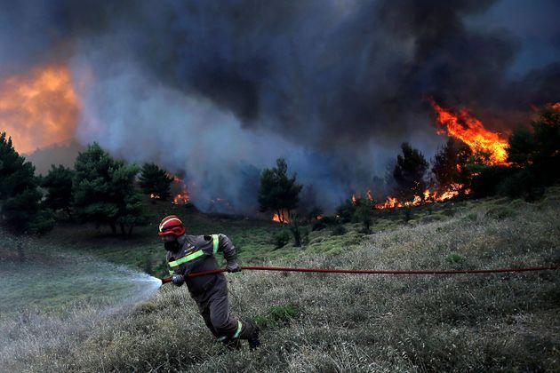 Πολύ υψηλός κίνδυνος πυρκαγιάς την