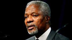Décès de Kofi Annan, ancien secrétaire général de