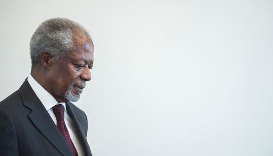 Zum Tod von Kofi Annan: Der Mann, der den Vereinten Nationen die Würde