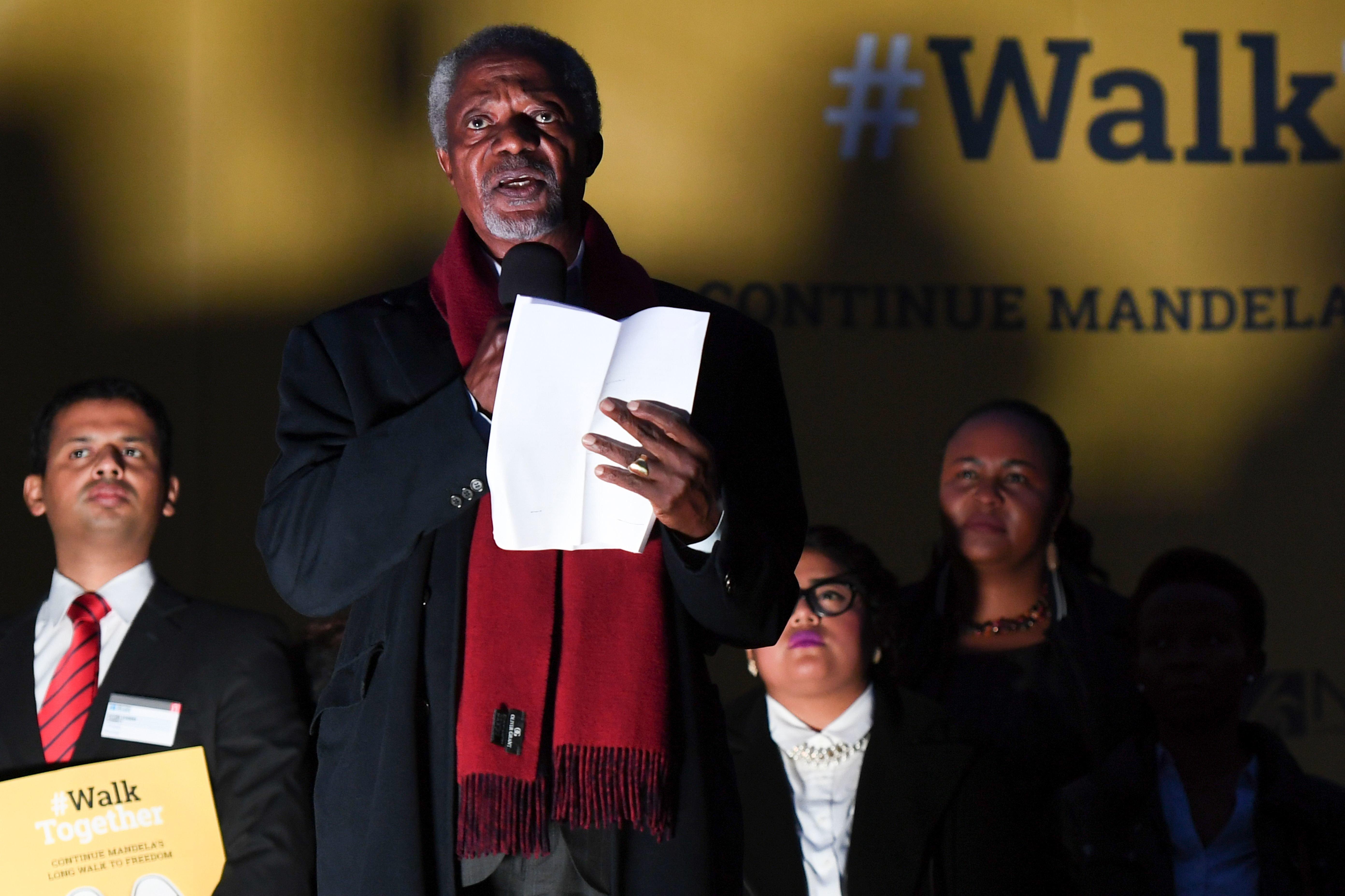 Kofi Annan: Kurz vor seinem Tod richtete er eine dringende Warnung an die Welt