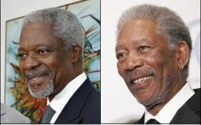How Kofi Annan Once Reacted To Being Mistaken For Morgan Freeman