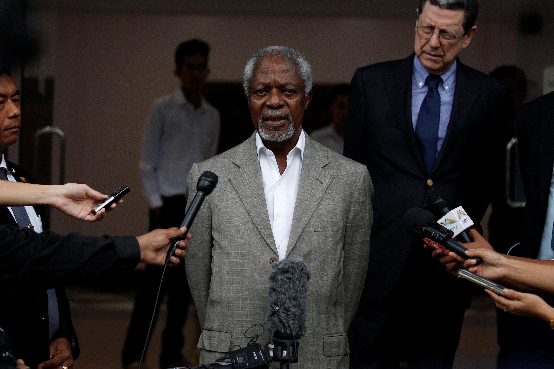 Τα κράτη του ΟΗΕ αποτίουν φόρο τιμής στον Κόφι