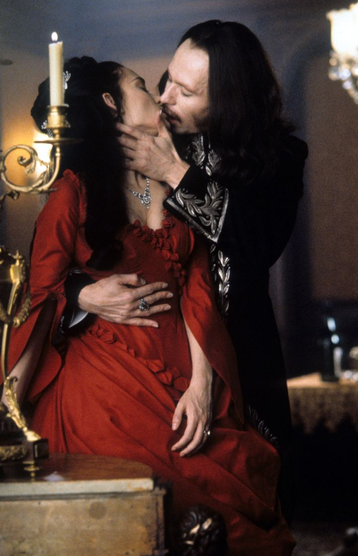 Ryder's character Mina may have married Reeves' Jonathan Harker, but Dracula (played by actor Gary Oldman, pictur