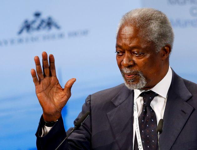 코피 아난 전 유엔 사무총장 별세에 전 세계 지도자들의 애도가