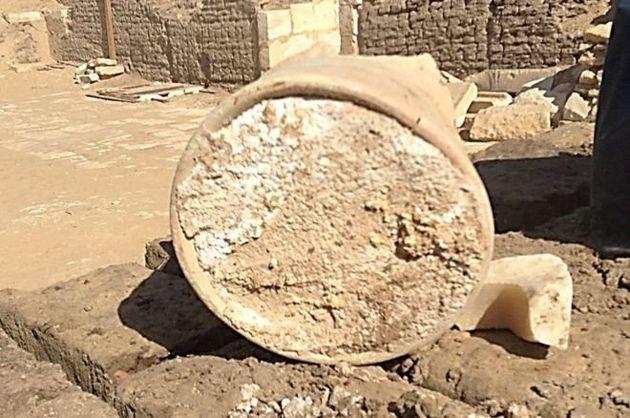 고고학자들이 3,200년 전의 치즈를