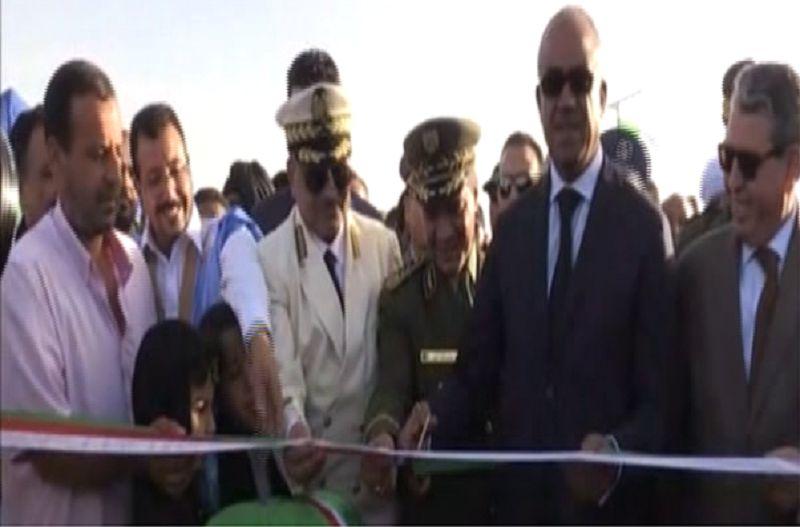 Bedoui à Tindouf pour inaugurer le nouveau poste frontalier