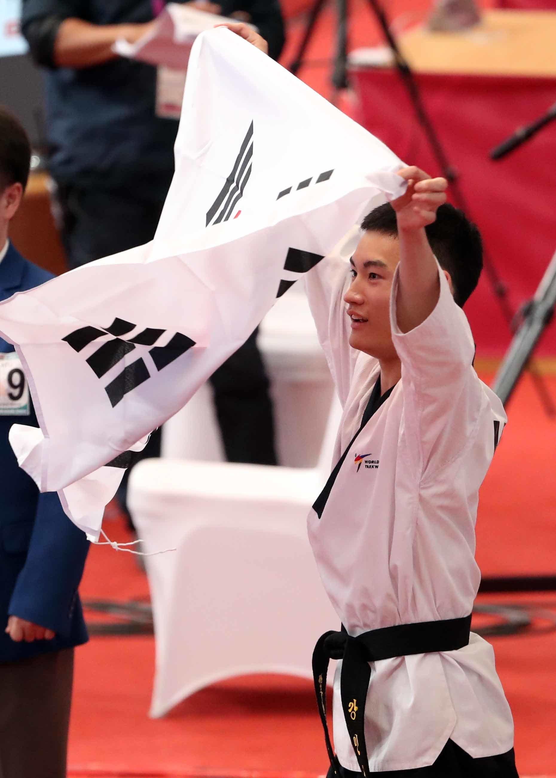 아시안게임 한국 첫 금메달이
