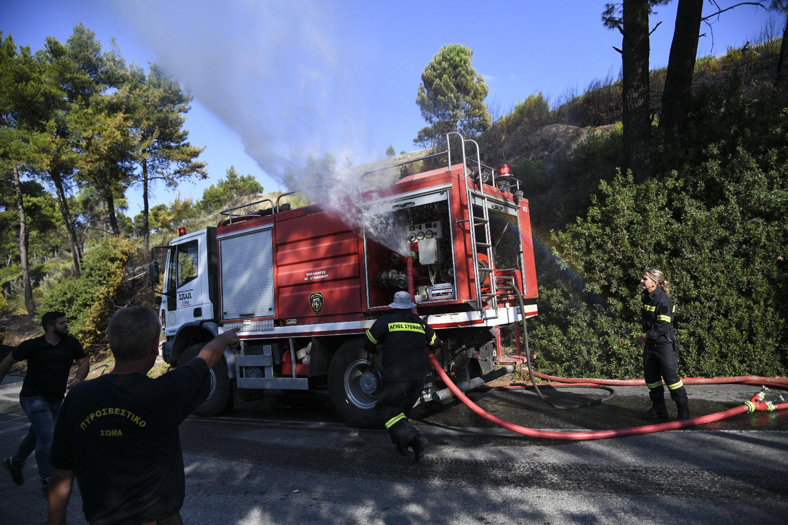 Υπό έλεγχο τέθηκε η πυρκαγιά που εκδηλώθηκε στην περιοχή Μητροπήσι, του Δήμου