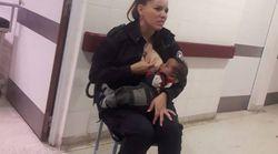 La policière argentine qui avait ému en allaitant un bébé abandonné promue sergent