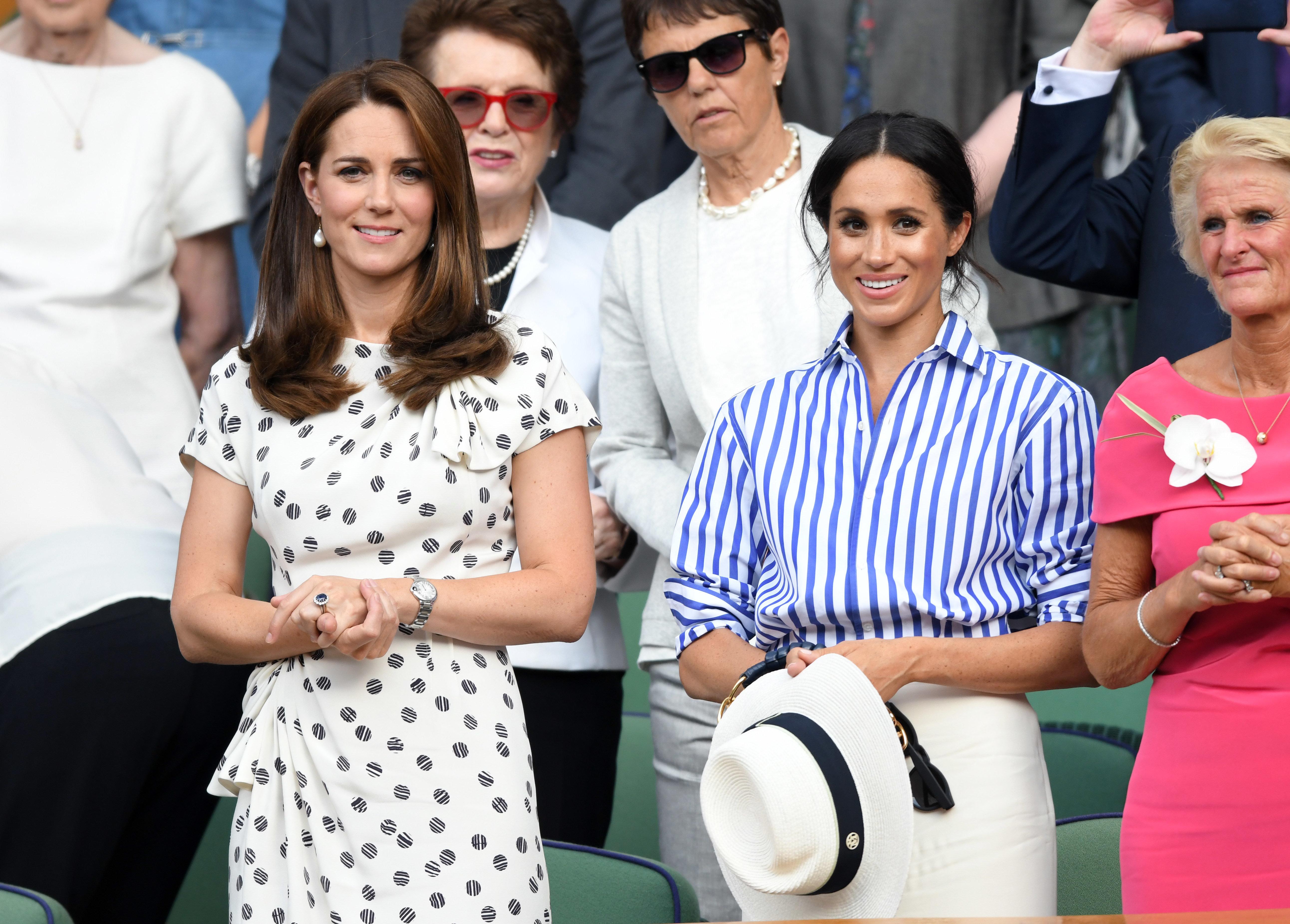 Herzogin Meghan: Das dachte sie vor ihrer Ehe mit Harry über Herzogin Kate