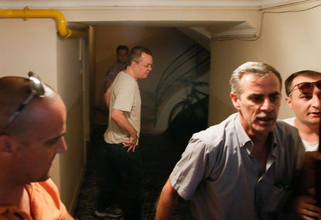 WSJ: Αμερικανικό «όχι» σε τουρκικό παζάρι για απελευθέρωση του πάστορα Μπράνσον με