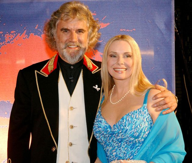 Billy with wife Pamela