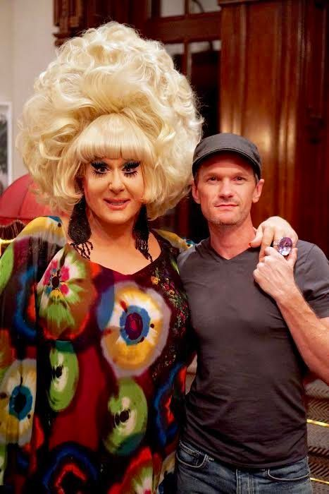 "Neil Patrick Harris (on right, with drag icon Lady Bunny) praised the original Wigstock for ""breaking down stereotypes"