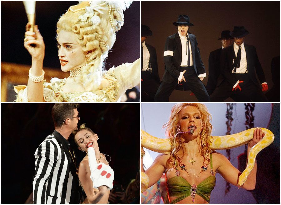 A Timeline Of The VMAs' Most Show-Stealing
