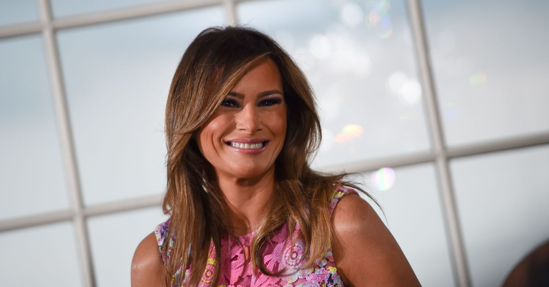 Melania Trump Speaks At Anti-Cyberbullying Summit While Donald Trump Cyberbullies