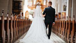 Das ist der Grund, weshalb die Braut bei der Trauung links