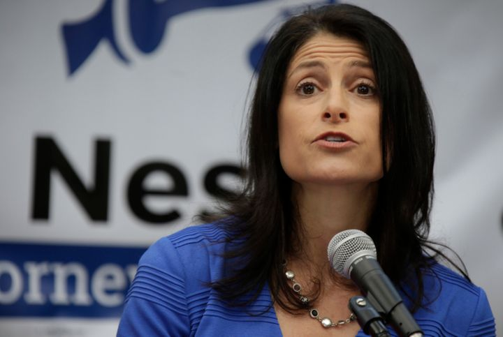 Dana Nessel, announces her bid for Michigan attorney general,on Tuesday, Aug. 15, 2017.