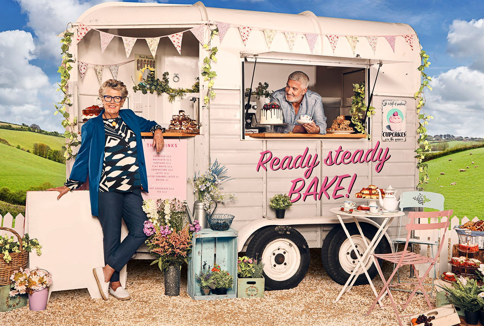 'Bake Off' Judge Prue Leith Says She Should Have Her Phone Confiscated In Case She Reveals This Year's