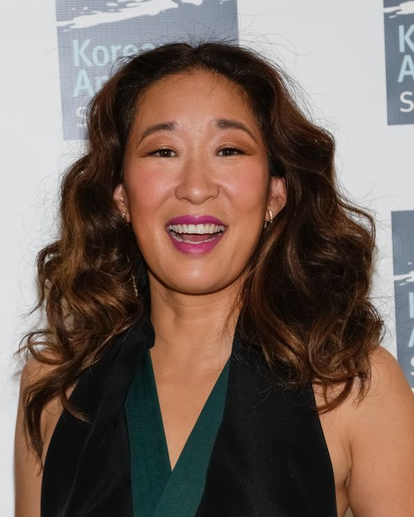 "Sandra Oh is just as dewy-faced now as she was when she started ""Grey's Anatomy"" in 2005."