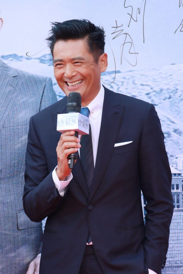 We get it, Chow Yun-Fat: You don't age.