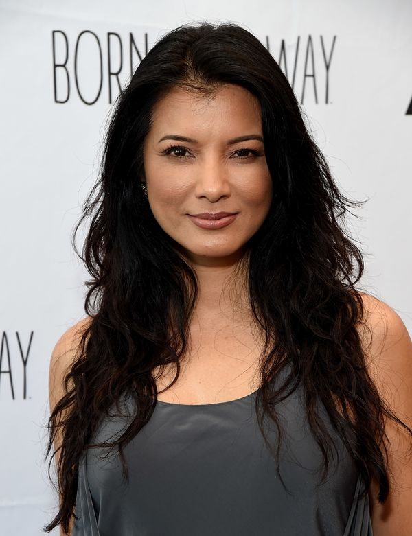 "Wine only gets better with age. Apparently the same holds true for ""The Scorpion King"" star Kelly Hu."