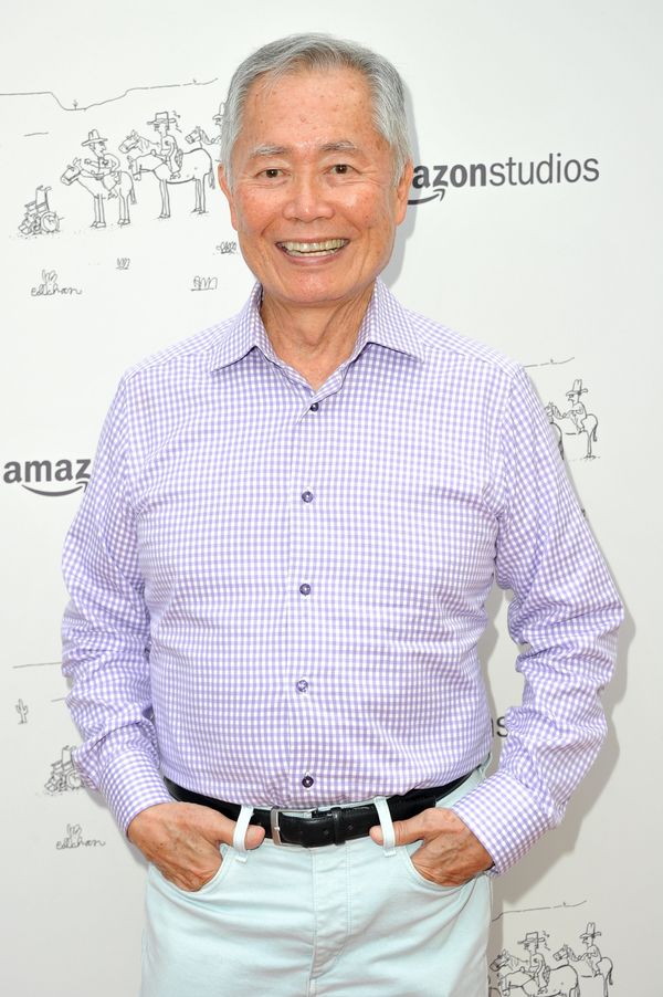 Lastly, iconic &ldquo;Star Trek&rdquo;&nbsp;zaddy George Takei. Has 81 <i>ever</i> looked more fun?