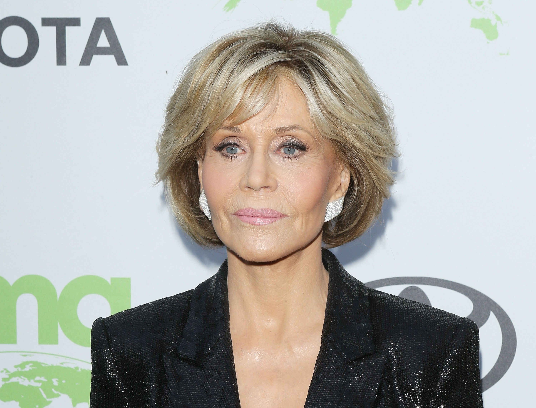 LOS ANGELES, CA - JUNE 09:  Jane Fonda attends the 1st Annual Environmental Media Association Honors Benefit Gala held on June 9, 2018 in Los Angeles, California.  (Photo by Michael Tran/FilmMagic)