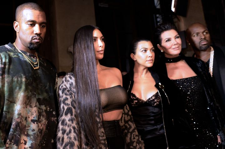 Kanye West, a pictorial stand-in for you keeping up with the Kardashians.