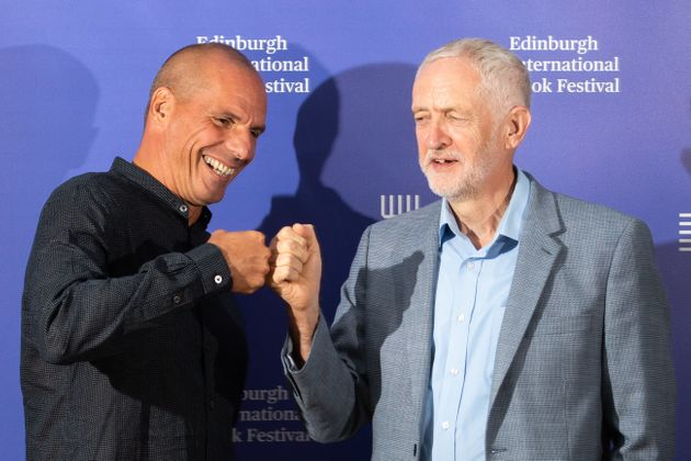 Greek economist, academic and politician Yanis Varoufakis and Labour leader Jeremy Corbyn Jeremy Corbyn...