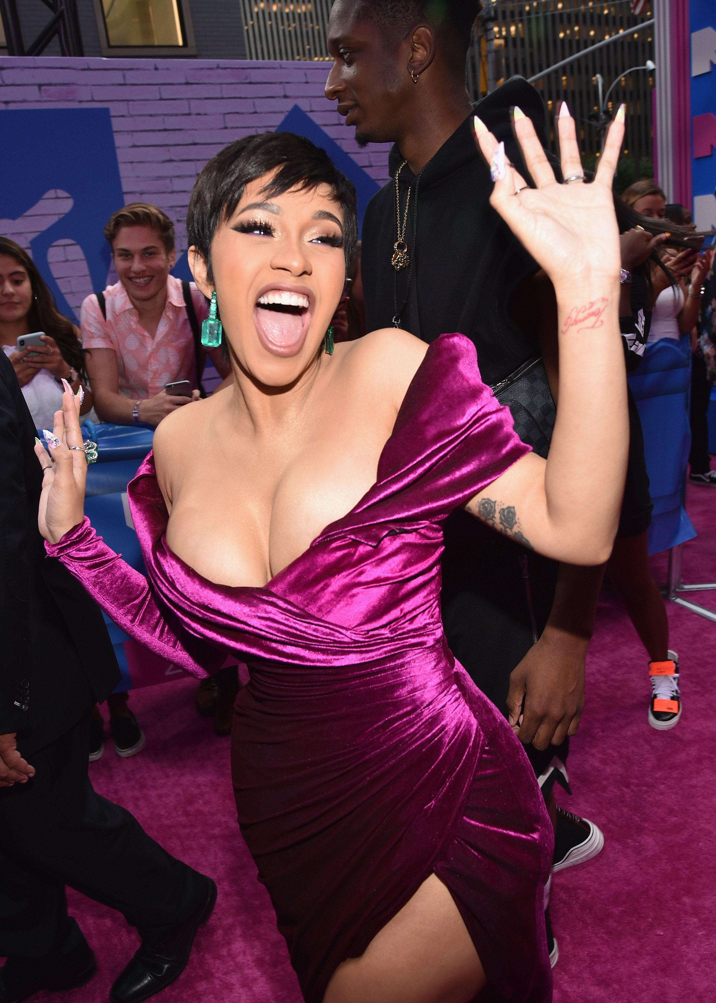 NEW YORK, NY - AUGUST 20: Cardi B attends the 2018 MTV Video Music Awards at Radio City Music Hall on August 20, 2018 in New York City.  (Photo by John Shearer/Getty Images for MTV)