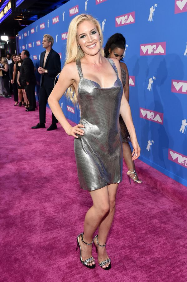 NEW YORK, NY - AUGUST 20: Heidi Pratt attends the 2018 MTV Video Music Awards at Radio City Music Hall on August 20, 2018 in
