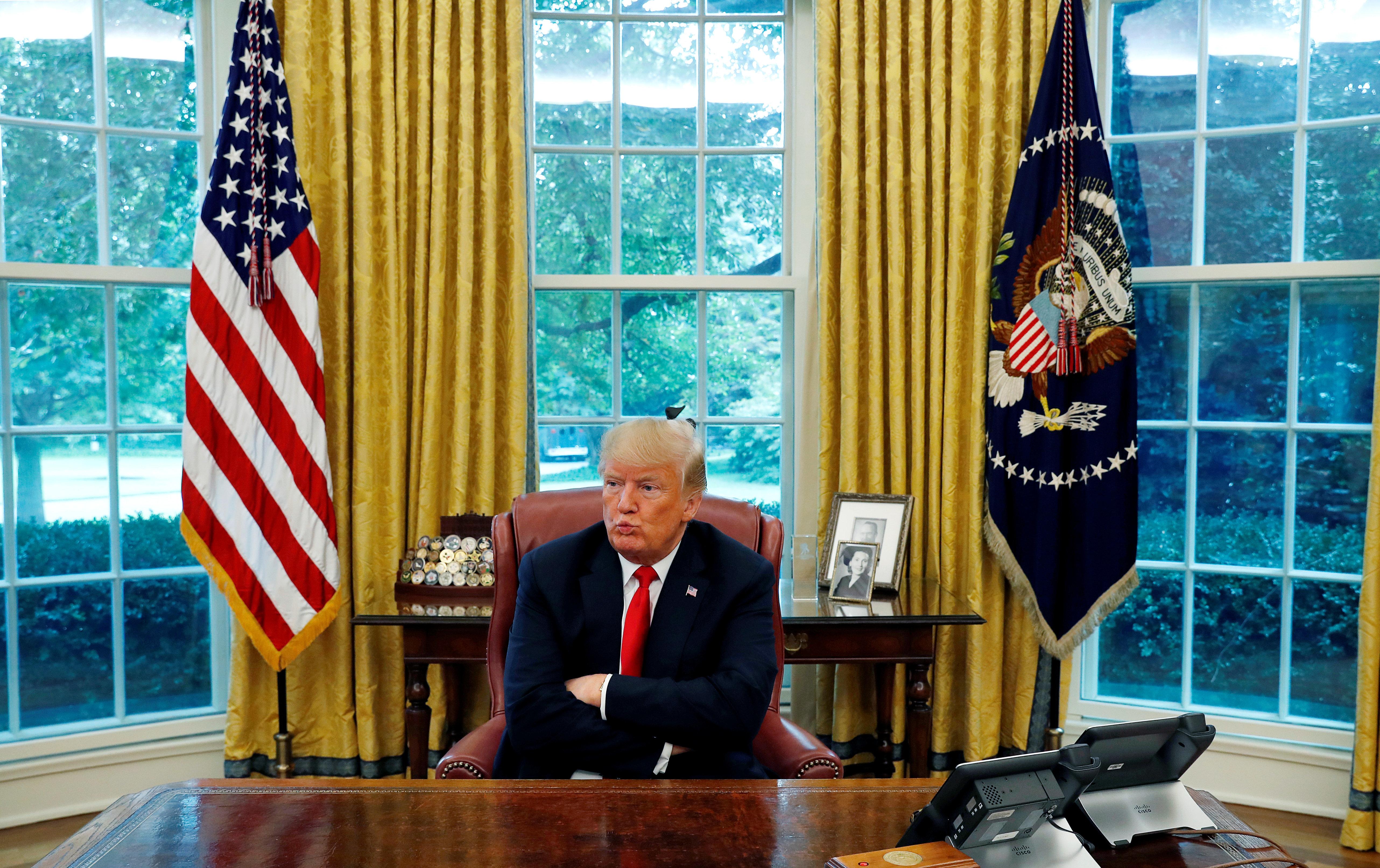 트럼프는 특검 대면조사가 자신에게 '불리할 것'이라고