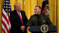 트럼프가 히스패닉계 국경순찰대원의
