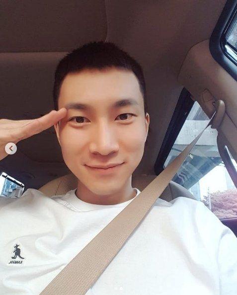 [Oh!쎈 이슈] 비투비 서은광, 반삭사진 공개→이기자부대 입소…늠름한 오늘(21일) 행보