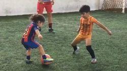 전 세계 축구팬들이 4살 소년의 플레이에