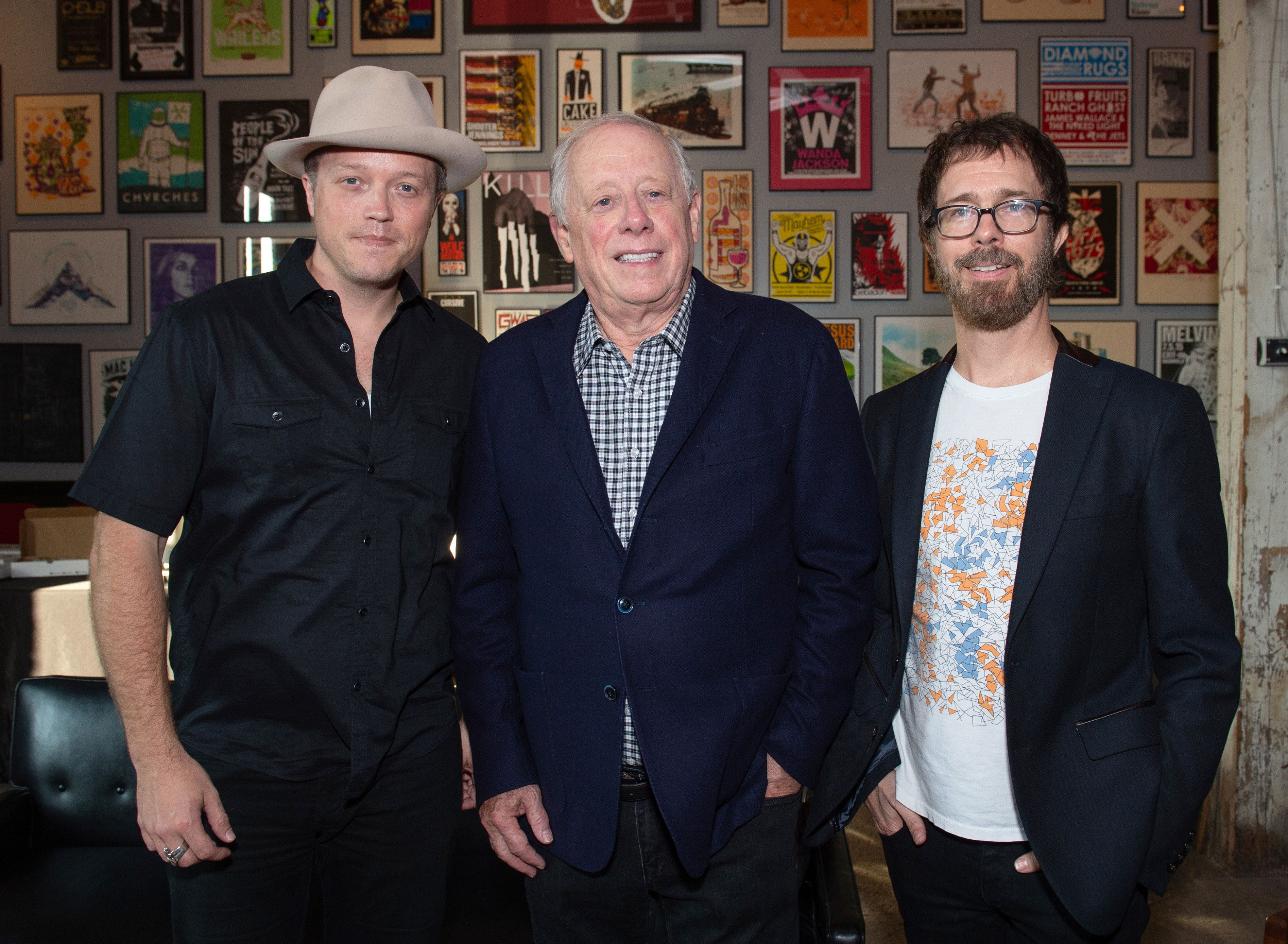 Jason Isbell Phil Bredesen and Ben Folds